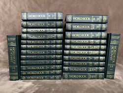 World Book Encyclopedia 1994 Edition Complete Set Of 22 Volume 2 Set Dictionary