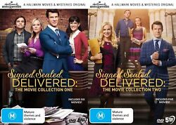 Signed Sealed Delivered Collection 1 And 2 Dvd Hallmark Mysteries Region Free