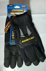 Ironclad Gloves Ccg Cold Condition Insulated Winter Work Gloves Large