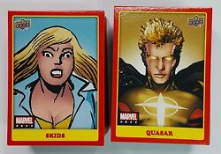 2020 Upper Deck Marvel Ages Mid Series Tier 2 Zoom Photo Variant Pick Your Own