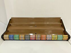 Vintage Life Savers Candy 12 Flavor Retail Store Counter Display Rack 37.5 In W
