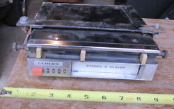 Lloydand039s Stereo 8 Track Car Auto Player Vintage 1960and039s 70and039s Used Untested Day 2