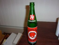 1974 Cleveland Browns 7 Up Pint Commemorative Bottle 16 Ounce