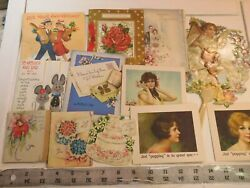 Large Greeting Card Lot - Vintage And Reproductions