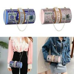 Rhinestone Money Clutch Purses Crystal Diamond Evening Bags Wedding Dinner Bag $33.61