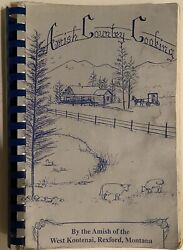 Amish Country Cooking By Andy And Millie Yoder 1994 Spiral Bound Paperback