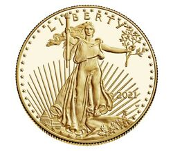 American Eagle 2021 One Ounce Gold Proof Coin Confirmed Order