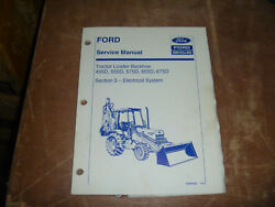 Ford New Holland 455d 555d Tractor Loader Backhoe Electric Service Repair Manual