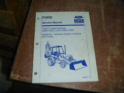 Ford New Holland 455d Tractor Loader Backhoe Hydraulic Service Repair Manual