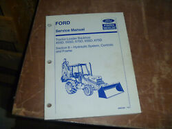 Ford New Holland 575d Tractor Loader Backhoe Hydraulic Service Repair Manual