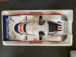 Minichamps Porsche 956 L Hand Signed By Both Ickx/bell Winner 1982 Le Mans 118