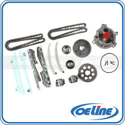 Fit 1997 Ford Crown Victoria Lincoln Town Car 4.6l Timing Chain Kit Water Pump