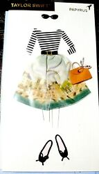 Papyrus Taylor Swift One Of A Kind 3d Fashion Outfit Birthday Greeting Card Rare