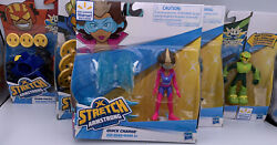 Stretch Armstrong And The Flex Fighters - Set Of 5 Figures