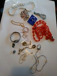 15 Pc Vintage/now Wearable No Junk Drawer Jewelry Unsearcheduntested Freeusaship