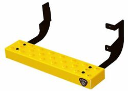 Carr 451007 Factory Step Van Assist/side Step Xp7 Safety Yellow Powder Coat Pair