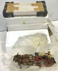 Matchbox 1880 Merryweather Horse-drawn Fire Engine Ysfe05-m New In Box Freeship