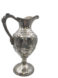 Sterling Silver Wine Ewer Pitcher By Loring Andrews