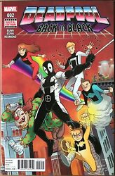 DEADPOOL BACK IN BLACK Comic Issue 2 Cover A — 2016 Marvel Universe VF