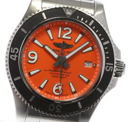 Breitling Super Ocean 42 A17366 Orange Dial Automatic Menand039s Watch_600264