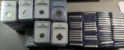 1946-2019 Pcgs And Ngc Graded Set Roosevelt Dimes 156 Coins Instant Registry Set