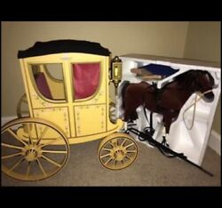 American Girl Doll Felicity's Horse And Carriage