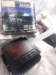 Vintage Old School Car Stereo Power Amplifier Rare New Old Stock