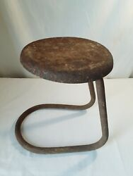 Vtg Milking Stool 12 Barn Find Country Primitive Decor Display Plant Stand