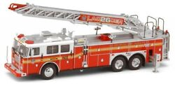 Code 3 Collectibles 1/64 Fdny Seagrave Rear Mount Ladder 26 Anniversary