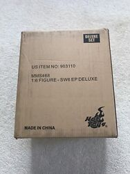 Hot Toys Emperor Palpatine Deluxe 1/6 Figure Star Wars Rotj Brand New Unopened