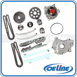 Fit 2004 Ford F-150 E-150 Club Wagon Timing Chain Kit Oil Water Pump