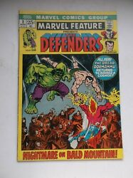 Marvel Feature 2, 2nd Defenders Appearance, Netflix Series , 1972, Fn+ 6.5