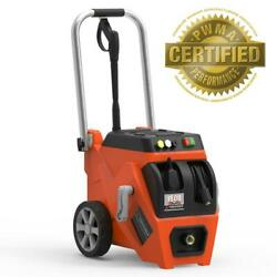 Yard Force Electric Pressure Washer 1800 Psi 1.2 Gpm Live Hose Reel Turbo Nozzle