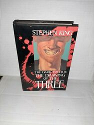 The Dark Tower Ii The Drawing Of The Three 1st Stephen King Phil Hale Signed