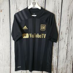 Bnwt Adidas Mls Los Angeles Fc Home Soccer Jersey 2020 Youth Size S