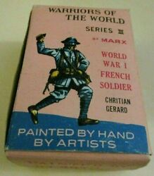 1960's Marx Warriors Of The World Christian Gerard Ww I French Infantry Series 3