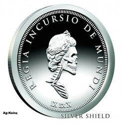 Slave Queen 1 - 5 Oz 2018 Royal Invader Proof Silver Shield Ssg Coa And Box 999