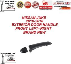 Nissan Juke 2010-2018 Exterior Front Door Handle Outer Left Or Right Black New