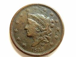 1838 U.s. Liberty Head/matron Head Modified Type 2 Young Head Large Cent