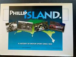 Very Rare Phillip Island A History Of Motor Sport Since 1928 Signed Troy Corser