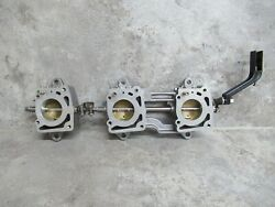 Omc Oem Throttle Body Upper And Lower And Throttle Link 0437321