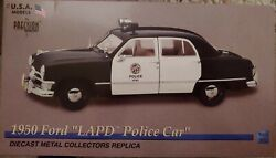 Precision Miniatures Usa Models 1950 Ford Lapd Los Angeles Police Dept. 1/18