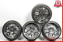 Mercedes S550 S600 Cl550 Cl63 Staggered Complete Wheel Tire Rim Set Of 4 Pc R20