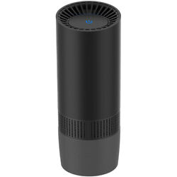 Portable Car Air Purifier Cleaner For Smoke Odor Dust+cigarette Lighter Charger