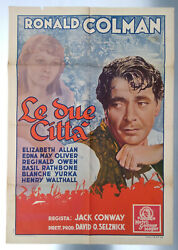 Manifesto Le Due Cittandagrave A Tale Of Two Cities 1ed.1935 Mgm Basil Rathbone Conway