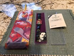 Vintage 1986 Peter Max Face Watch With Original Packaging/paperwork.