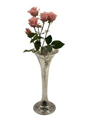 Sterling Silver Vase By E. P. Roberts And Sons
