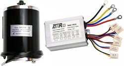 48v 1000w Brushed Speed Motor And Controller For Electric Scooter Go Kart Bike