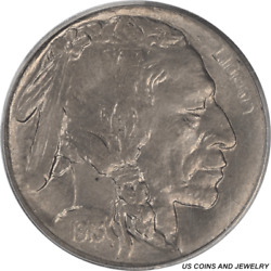 1913-s Type 1 Buffalo Nickel Pcgs Ms65 First Year Of Issue