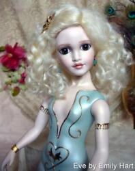 Eve All Porcelain Doll Rochard Raised Paste With Gold An Emily Hart Doll